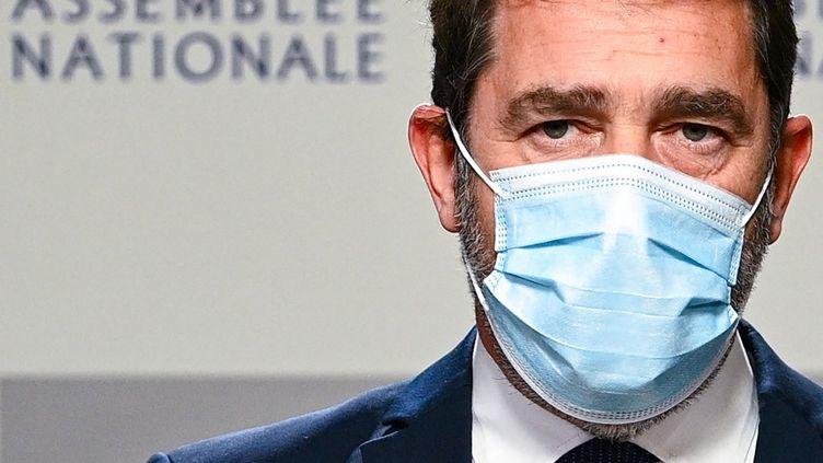 Christophe Castaner, le 30 novembre 2020, à Paris. (ANNE-CHRISTINE POUJOULAT / AFP)