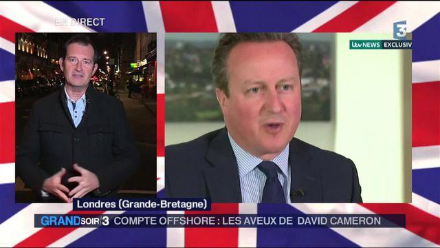 Compte offshore : les aveux de Cameron