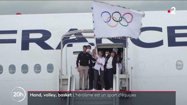JO de Tokyo : le retour des athlètes et les sports collectifs célébrés à Paris