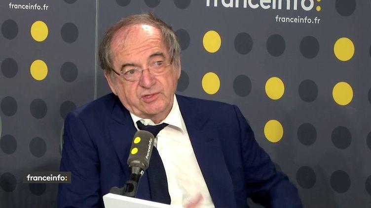 Noël Le Graët, président de la Fédération française de football. (FRANCEINFO / RADIOFRANCE)