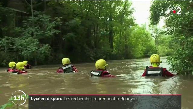 Lycéen disparu à Beauvais : les recherches continuent