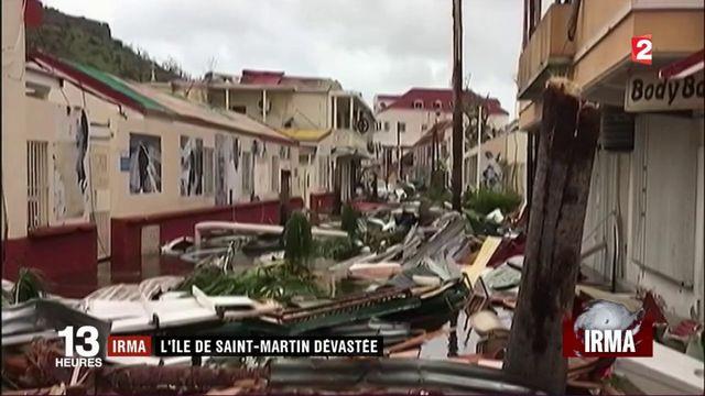 Ouragan Irma : Saint-Martin dévastée