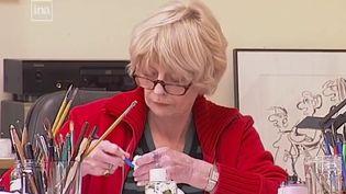 Claire Bretécher est décédée lundi 10 février à l'âge de 79 ans. C'est une pionnière dans le monde de la BD. (France 2)