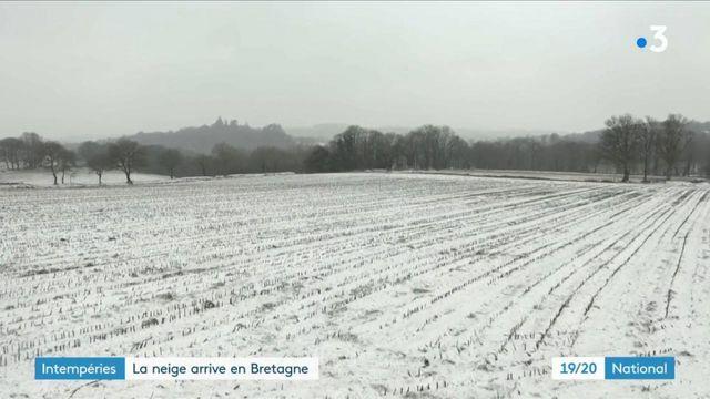 Bretagne : face à l'arrivée de la neige, les autorités prennent les devants et s'organisent