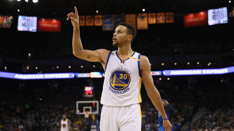 Stephen Curry.  (EZRA SHAW / GETTY IMAGES NORTH AMERICA)