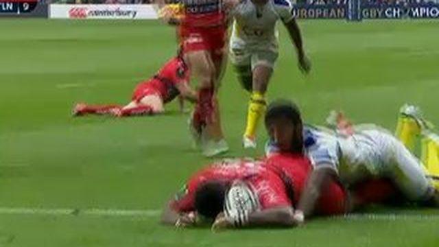 Premier essai de Toulon contre l'ASM