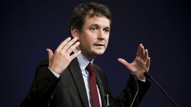 Marc Vannesson, président du think tank VersLeHaut, le 12 juin 2018. (VINCENT ISORE / MAXPPP)