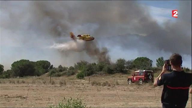 Incendies : les pilotes de l'extrême