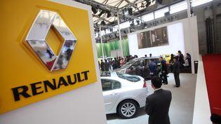 Le stand Renault, lors du Salon de l'automobile de Shangai (Chine),en avril 2011. (IMAGINECHINA / AFP)