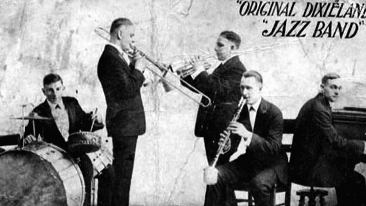 L'Original Dixieland Jazz Band  (Capture d'image France3/Culturebox)