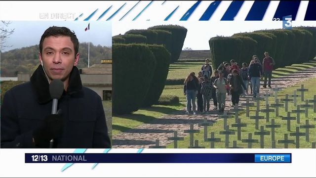 Alsace : Macron inaugure l'historial franco-allemand du Hartmannswillerkopf