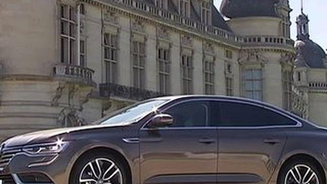 Renault lance une nouvelle berline haut de gamme