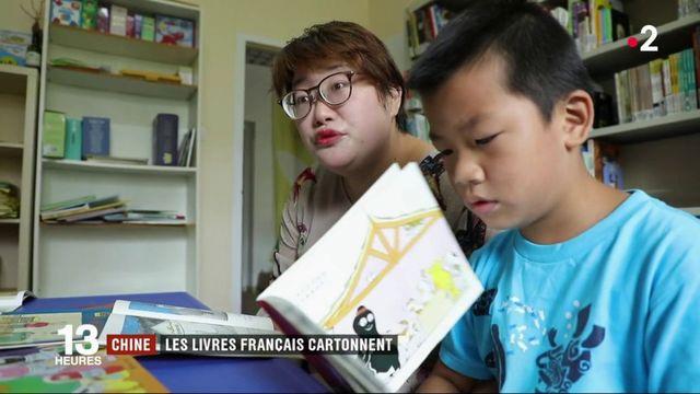 Chine : les livres français cartonnent