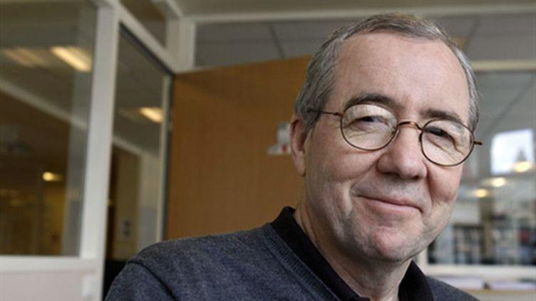 Eric Debarbieux, également professeur de sciences de l'éducation à l'université Bordeaux II, le 31 mars 2010 à Paris. (AFP/FRANCOIS GUILLOT)