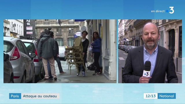 """Paris : une """"ambiance assez lourde"""" dans le quartier de l'Opéra, au lendemain de l'attaque"""