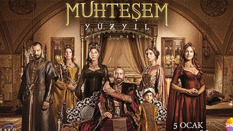 Affiche de la série «Muhteşem Yüzyıl» («Le siècle magnifique»). (DR)
