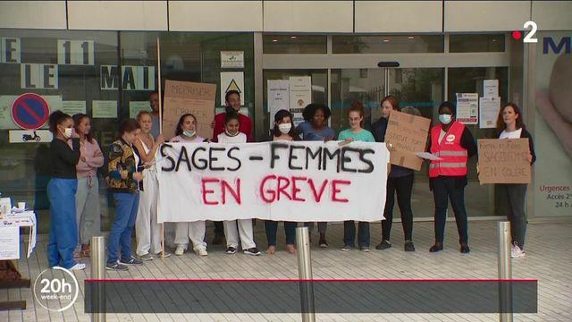 Santé : manque de personnel et de reconnaissance, les sage-femmes en grève