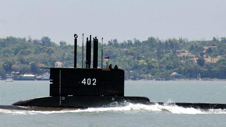 """Une photo du sous-marin """"KRI Nanggala 402"""" fournie par la marine indonésienne, le 21 avril 2021. (MAXPPP)"""