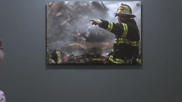Exposition sur le 11 septembre à Caen