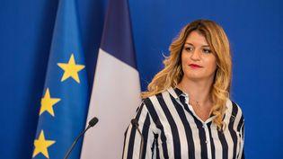 La ministredéléguée à la Citoyenneté Marlène Schiappa le 31 août 2020 à Paris. (AURELIEN MORISSARD / MAXPPP)
