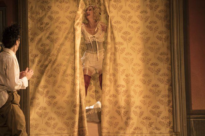 Micha Lescot (Petypon) et Léa Drucker (la Môme Crevette) (JEAN-LOUIS FERNANDEZ)