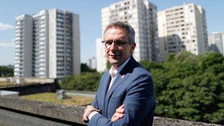 Le président (PS) du conseil départemental de Seine-Saint-Denis, Stéphane Troussel, à Bobigny (Seine-Saint-Denis), le 21 juillet 2017. (CHARLES PLATIAU / REUTERS)