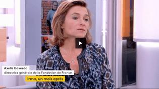 Axelle Davezac, directrice génarale de la Fondation de France (FRANCEINFO)
