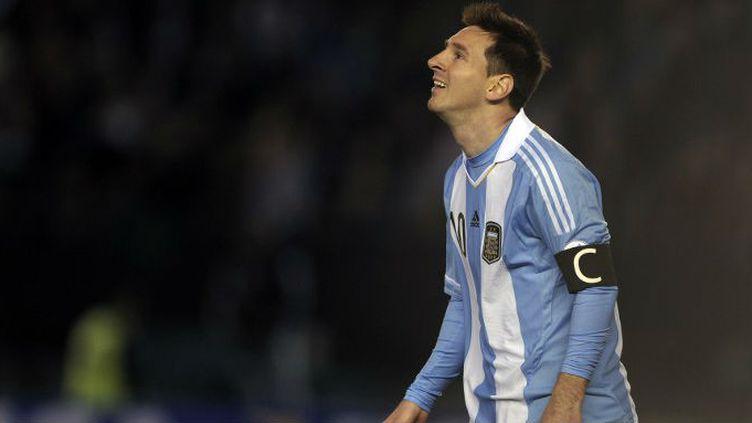 Lionel Messi sous le maillot de l'Argentine