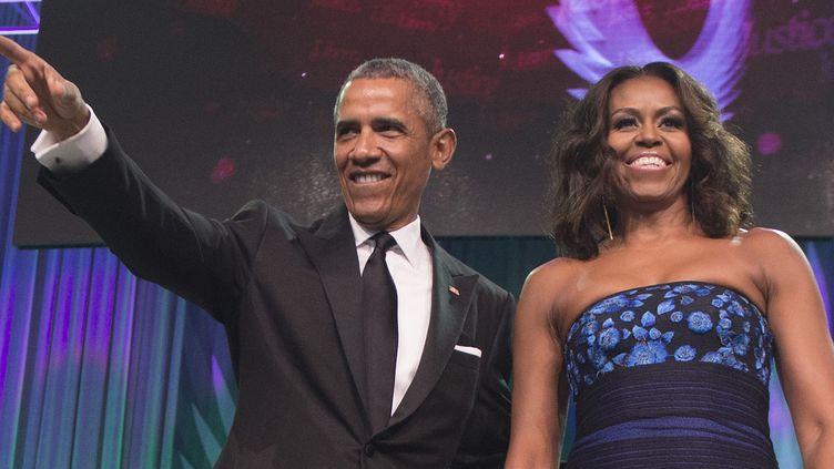 Barack et Michelle Obama le 20 septembre 2015.  (Jim Watson / AFP)