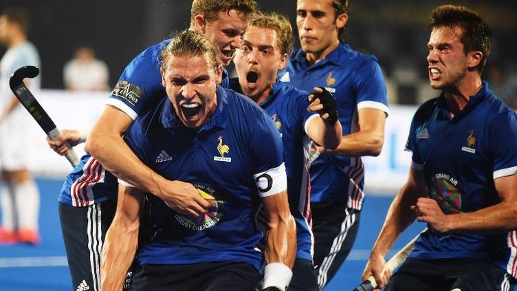 L'équipe de France se qualifie pour les huitièmes de finale de la coupe du Monde 2018. (DIBYANGSHU SARKAR / AFP)