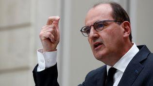 Le Premier ministre Jean Castex, à Paris, le 28 avril 2021. (GONZALO FUENTES / POOL / AFP)