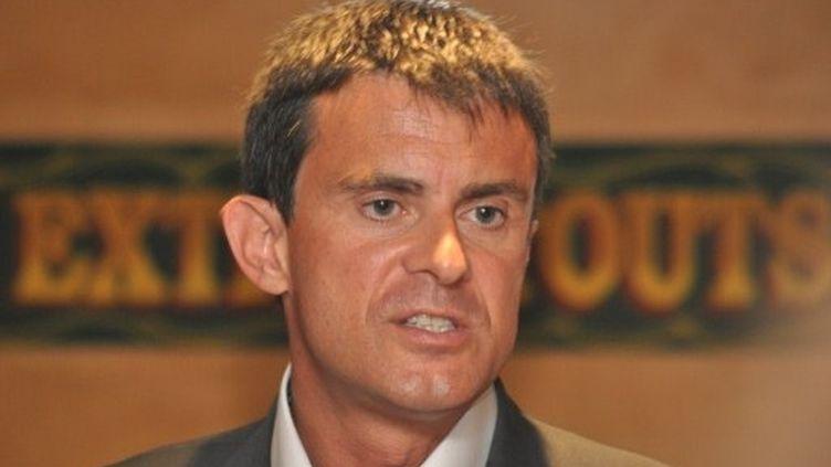 Manuel Valls à la Rochelle (26 août 2011) (AFP)