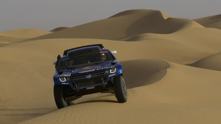 Le Race Touareg 3 de Volkswagen