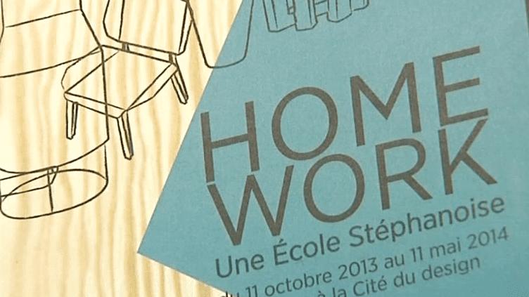 """""""Homework"""" à la Cité du Design de Saint-Etienne  (France 3 / Culturebox)"""