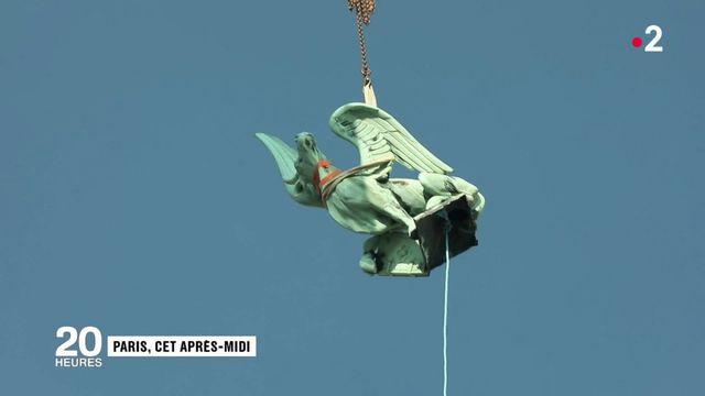 Notre-Dame de Paris : les statues s'envolent