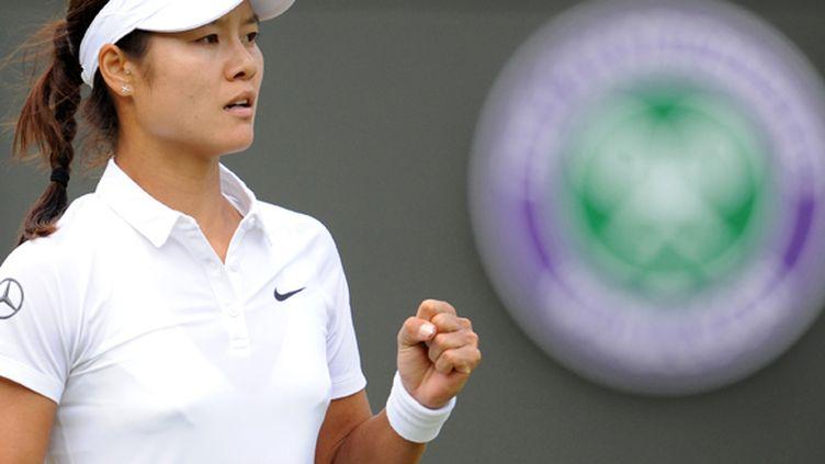 La joueuse chinoise Li Na lors du dernier Wimbledon (YUNUS KAYMAZ / ANADOLU AGENCY)