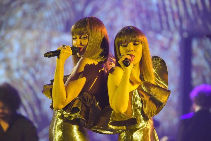(Le duo Brigitte aux Victoires de la Musique © Edmond Sadaka/RFI)