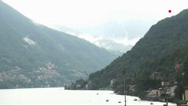 Italie : inondations et glissements de terrain aux abords du lac de Côme