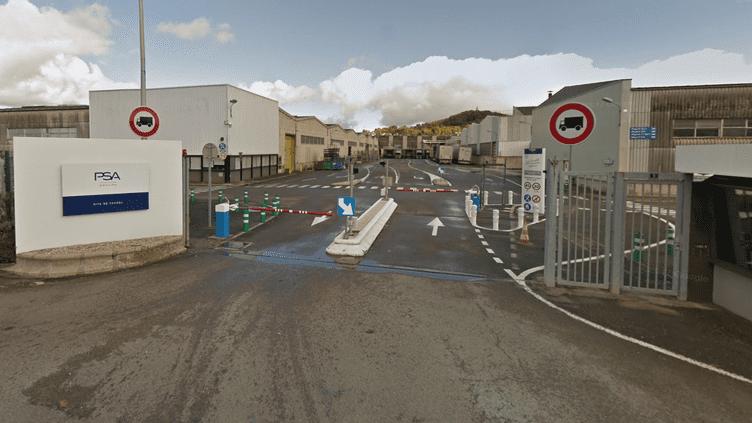 L'entrée du site PSA de Vesoul (Haute-Saône). (GOOGLE STREET VIEW / FRANCEINFO)