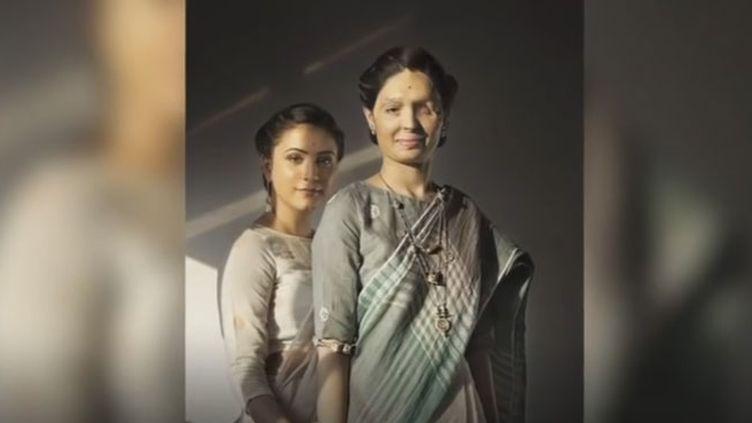 Reshma Qureshi fait désormais campagne contre les attaques à l'acide (capture d'écran BBC News)
