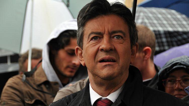 Jean-Luc Mélenchon, le 21 septembre 2012 à Paris. (ZAER BELKALAI / CITIZENSIDE.COM / AFP)