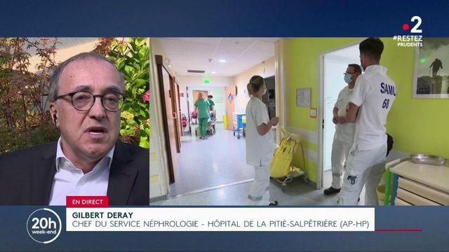 """Santé : """"L'hôpital public ne peut pas être traiter comme une entreprise"""", exhorte Gilbert Deray, chef de service à La Salpétrière"""