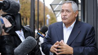 Robert Bourgi, le 12 septembre 2011 à Paris. (JOHANNA LEGUERRE / AFP)