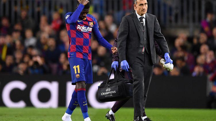 Souvent blessé cette saison, Ousmane Dembélé voit-il enfin le bout du tunnel ? (MARIUS BECKER / DPA)