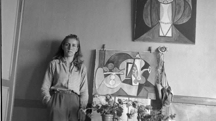 Françoise Gilot photographiée par Michel Sima, ami de Picasso (MICHAL SMAJEWSKI DIT MICHEL SIMA)