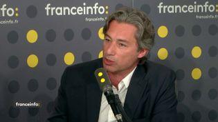 Laurent Solly, directeur général de Facebook France. (FRANCEINFO)