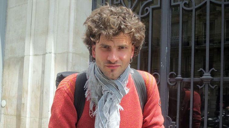 Vincent Peirani à Paris (25 juin 2013)  (Annie Yanbékian)