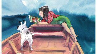 Affiche du 47e festival international de la bande dessinéed'Angoulême, par Catherine Meurisse (Catherine Meurisse / FIBD 2020)