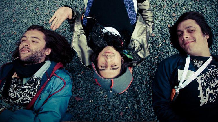"""Les Naïve New Beaters sortent leur troisième album """"A la folie"""" ce vendredi.  (Benjamin Lemaire/MAXPPP)"""