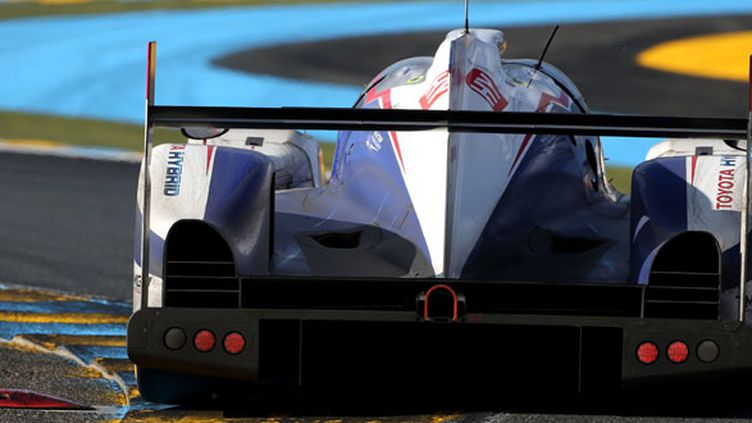La Toyota TS040 au Mans (TOYOTA RACING / TOYOTA RACING)